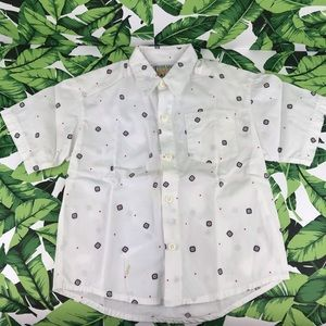 5 for $25 Threads Vintage White Navajo Button Down